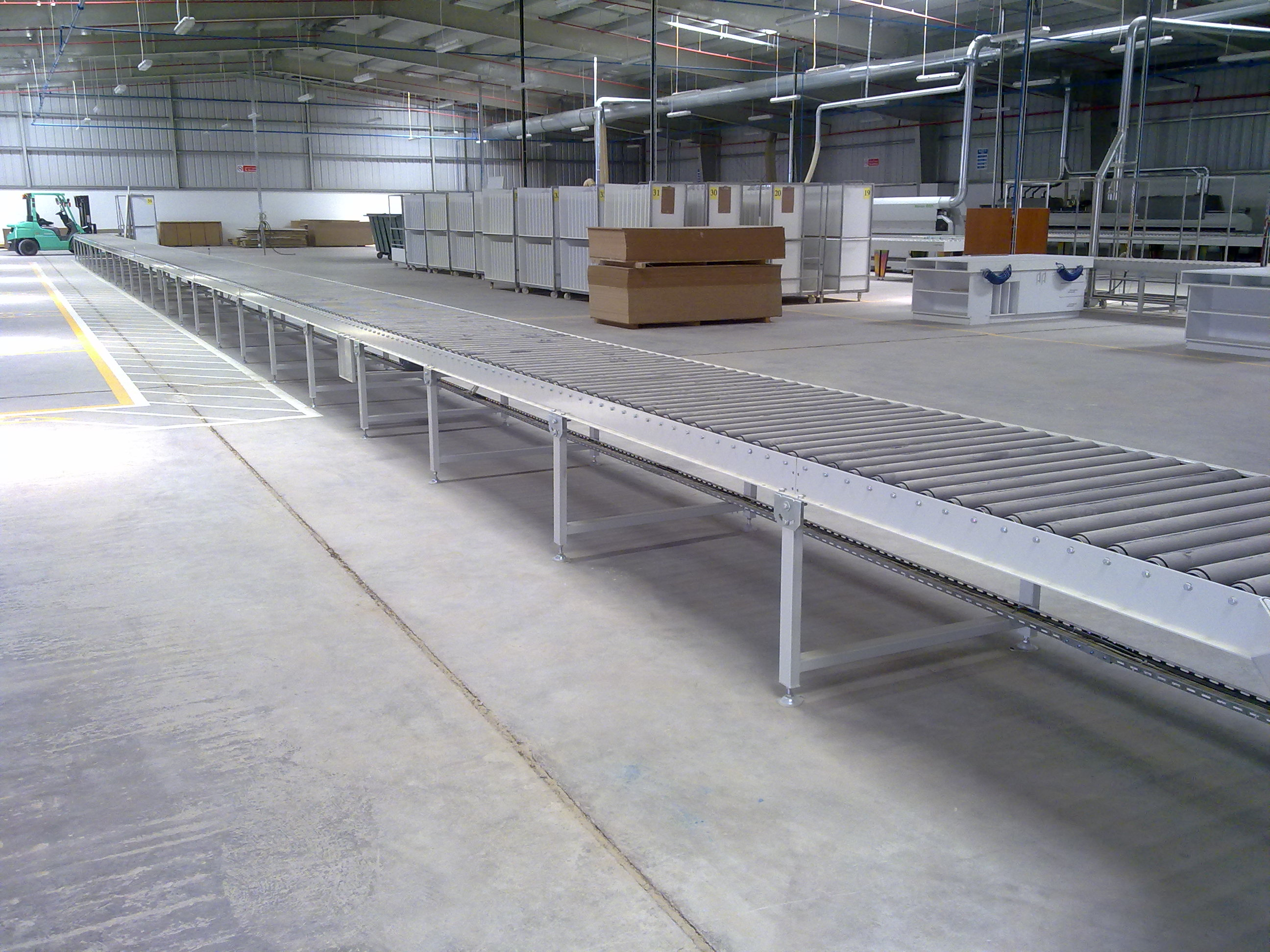 PCM ME FZC – Roller Conveying Systems