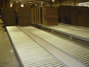 Heavy duty Roller system for Corrugated cartons
