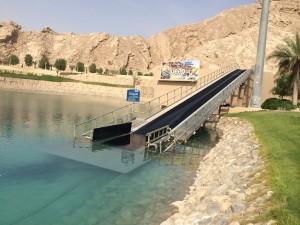 Raft conveyor system