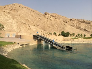 Water park conveyor system